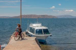 Titicacasee - mit dem Boot geht es weiter