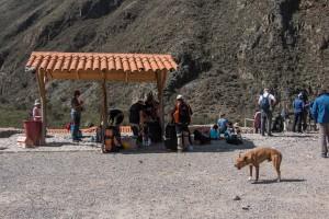 Inka Trail - Vorbereitung am Packplatz